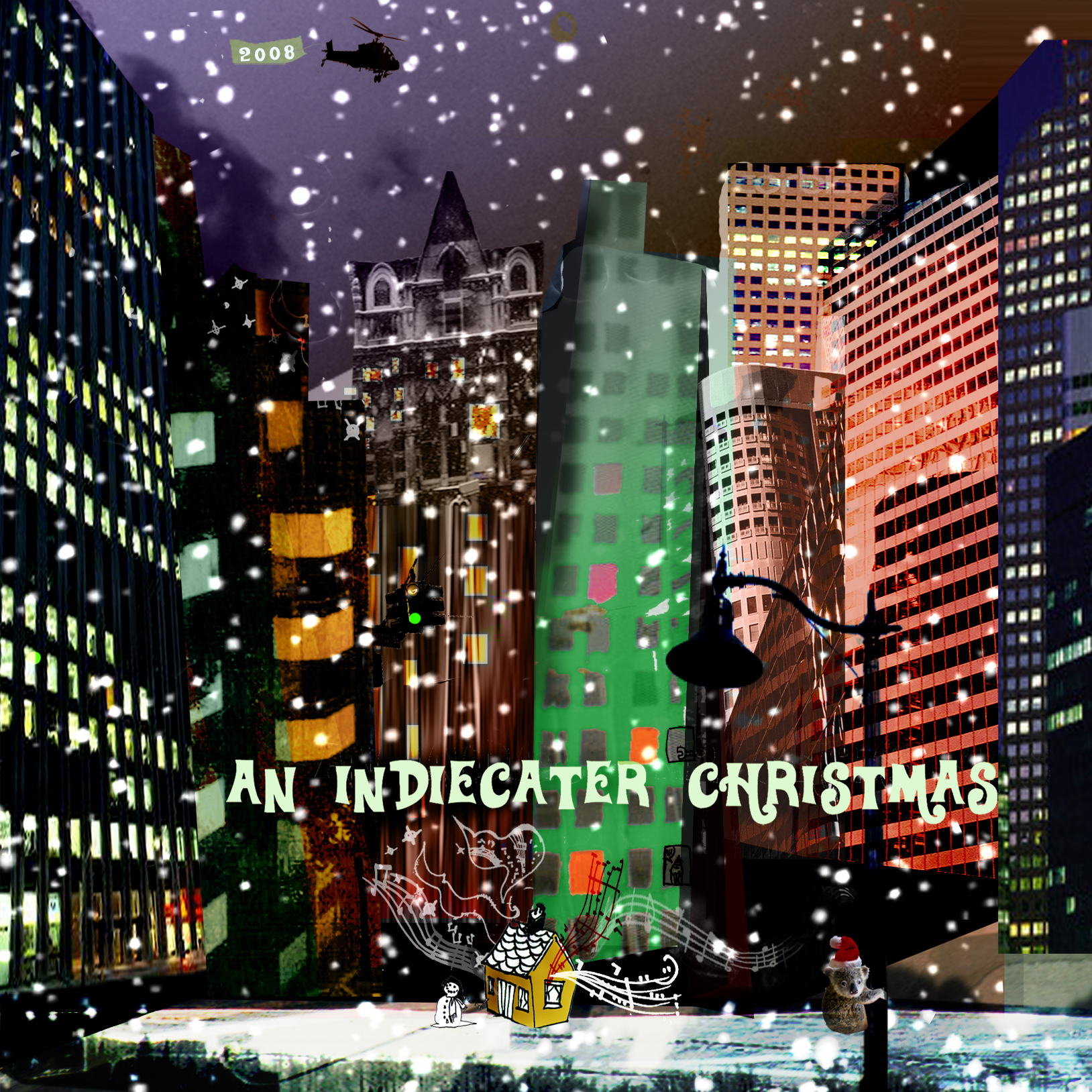 An Indiecater Christmas cover