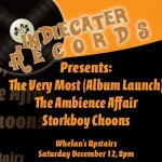 Indiecater Records Present: The Very Most, The Ambience Affair & Storkboy Choons